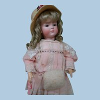 Vintage Doll Muff for 16-18 Inch Doll, 10 Inches Long