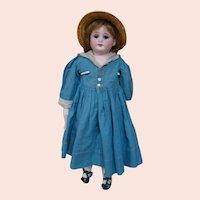16 In. German Bisque Shoulder Head Doll, Mold #1894, Armand Marseilles