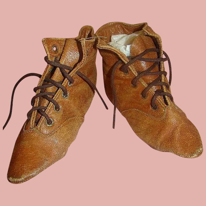 Antique Leather Boots For Large China