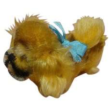 German Steiff - Peky - in Tiny Size, Button in Ear, Yellow Tag