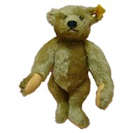 9  In. Steiff Mohair Remake of the 1904 Original Teddy for Strong Museum