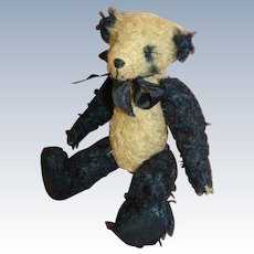 8 In. Vintage Jointed Artist Bear - Glass Eyes