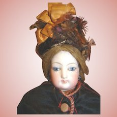 15 In. Original F.G. French Fashion on Beautiful Leather Body; Fabulous Outfit!