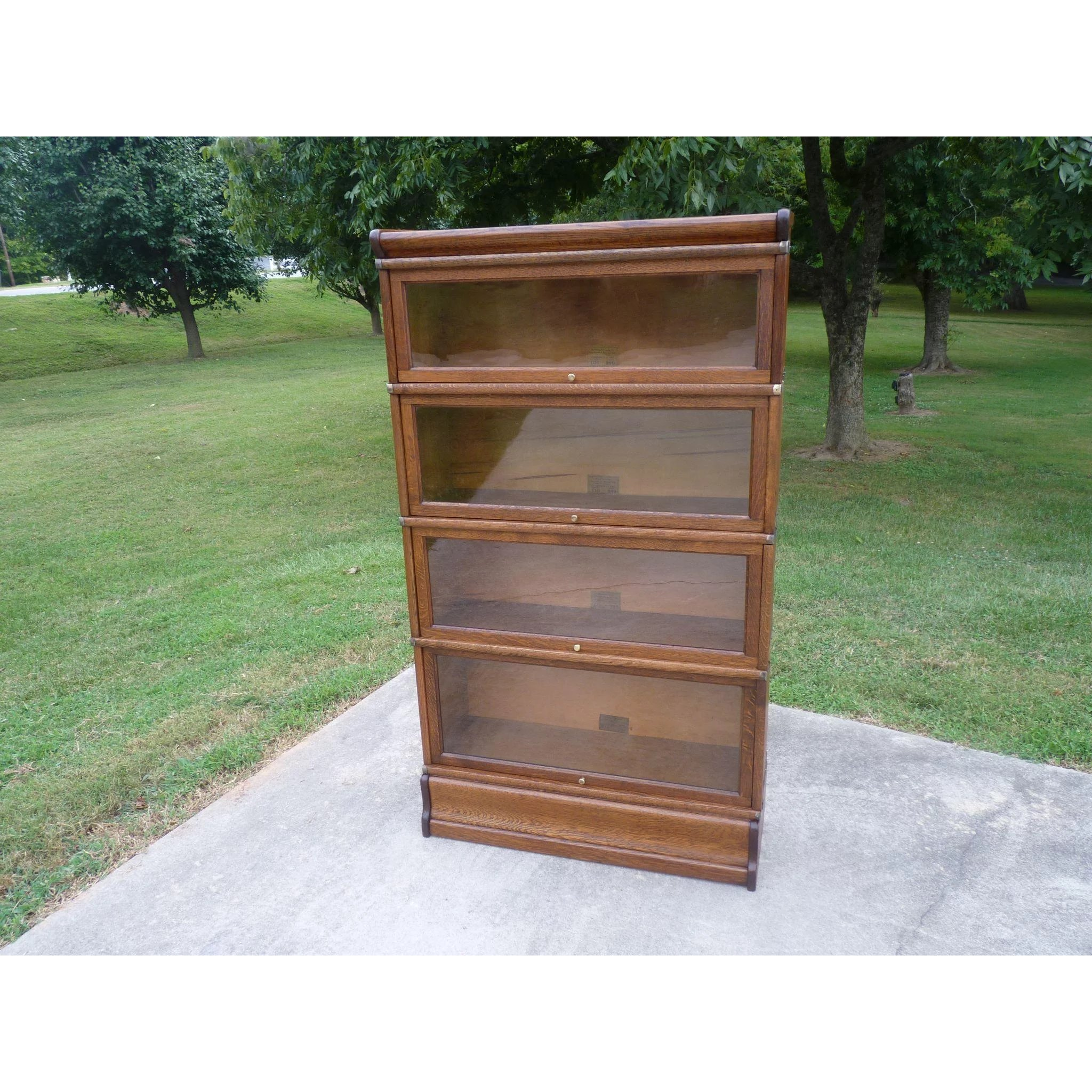 pieces poul id org danish storage bookcases lane barrister modern case at bc hundevad z f teak furniture double bookcase