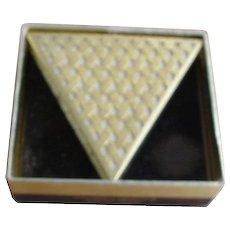 Faberge Compact,diamond shape