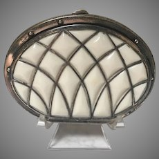 Antique 19th Century Celluloid and Bone Coin Purse