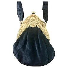 Rare Spanish Lady Bull Fighter Celluloid Purse