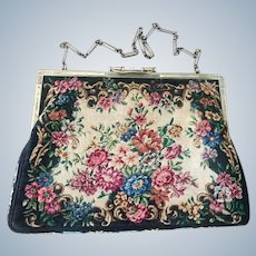 Authentic Vintage Tiffany & Co. Micro Petit Point Sterling Silver Purse