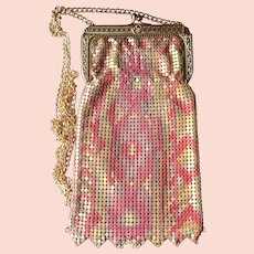 Whiting and Davis Heritage Collection Enamel Mesh Purse