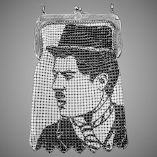 Whiting and Davis Charlie Chaplin Mesh Purse