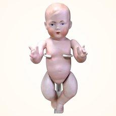 Scarce 9 Inch Bruno Schmidt All Bisque  245 Baby
