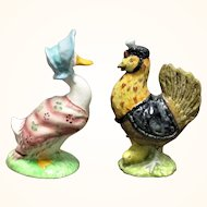 2 Beswick Beatrix Potter Figures Jemima Puddle Duck and Sally Henny Penny