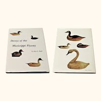 1981 Book Decoys of the Mississippi Flyway by Alan C. Haid