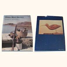 1980 Book Shore Bird Decoys by Harry Fleckenstein Jr