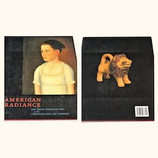 2001 Book American Radiance  The Ralph Esmerian Gift to the American Folk Art Museum