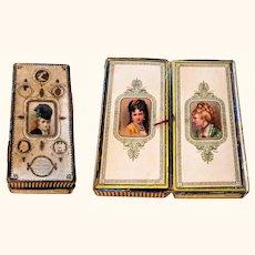 1860's Henry Matier & CO Presentation  Handkerchief Box