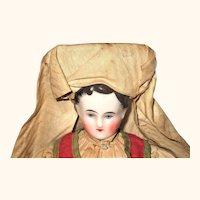 1850's 11 Inch Kinderkopf  in Original Regional Costume