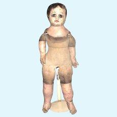 18 Inch Size 7 Ella Smith Alabama Baby Wear Nude Soulful Blue Eyes Bare Feet