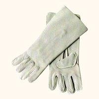 "4.5"" Ivory Kid Gloves for French Bebe Doll"
