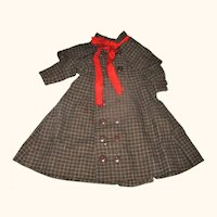 """12"""" Sherlock Coat with Capelet for Lady Doll"""