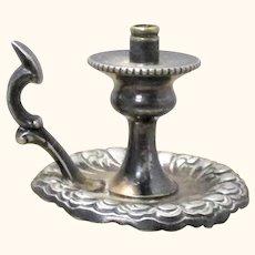19th Century Derby Company Miniature Quadruple Plate  Chamber Stick