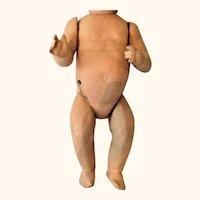 Quality 12 Inch German Baby Body Good Original Finish Voice Box Working Mama Strings