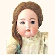 Fine 22 Inch Size 9 Simon Halbig Character 1299 Original Wig Pate Body Finish Fiber Lashes Antique Costume