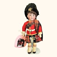 9 Inch AM 390 Fully Jointed Original Scots Costume
