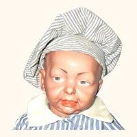 13.5 Kammer Reinhardt Brown Bisque Character Mold 100 Baby