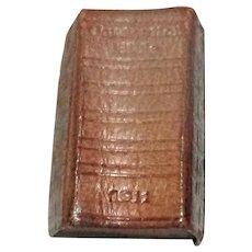 Scarce Coronation Bible 1911 Miniature Book