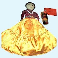 "Dennison Skookum Mailer & 13"" Navaho Cloth Doll"