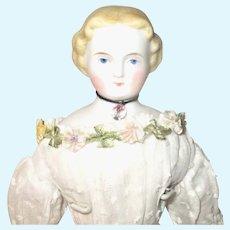 10.5 Inch A W Kister Blond  Parian Beautiful Face & Layered Costume Limb Repairs