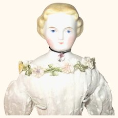 10.5 Inch A W Kister Blond  Parian Beautiful Face & Layered Costume Limb Repairs