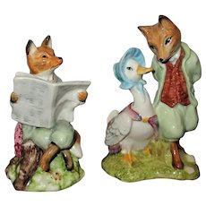 2 Royal Albert Beatrix Potter Figurines