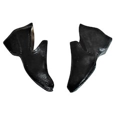 3 Inch Pair of Old Rubber Galoshes Marked AMERICAN