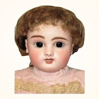 17 Inch Jules Steiner Transitional Figure  B 10 with Sleep Eyes Open Mouth Upper & Lower Teeth Signed Eyes