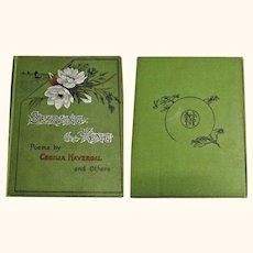 1890 Children Poem Book Serving the King T. Nelson & Sons New York