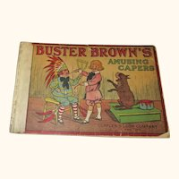 Buster Brown's Amusing Capers  1908 Leon & Cupples