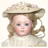 "10"" Gebr. Heubach 8402 Closed Mouth Sleep Eyes Orig Clothes Wig"