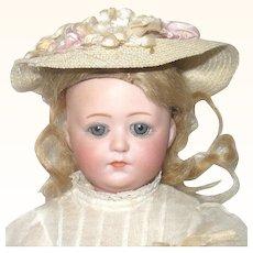 "10"" Gebr. Heubach 8402 Closed Mouth Sleep Eyes Orig Clothes Wig"