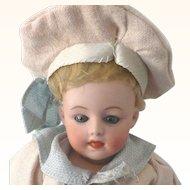 """12"""" 7550 Heubach Character Sleep Eyes Great Wig & Costume"""