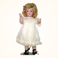 14.5 Inch De Fuisseux F1  Character Toddler Hazel Jewel Eyes Closed Kissy Mouth