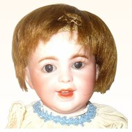 "8"" Size 0 SFBJ 236 Paris Character Baby Brown Sleep Eyes"