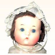 9 Inch Armand Marseilles Painted Bisque Just Me Original Bobbed Wig Play Suit Bonnet Shoes