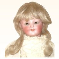 Fine 11 Inch Kestner 185 Character Girl Brown SE Original Wig Pate Body Finish  Antique Clothes Key Stone Shoes
