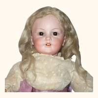 14 Inch Simon Halbig 1279 Character Antique Wig Clothes Key Stone Shoes