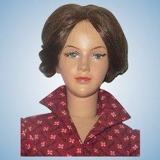 18 Inch 1958 Dewees Cochran Grow Up Series 20 Year Old Belinda Crispy Costume Heels Molded Bosom Lashes