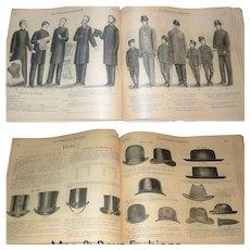 1890-91 Fall and Winter Catalog No 29 John Wanamaker Philadelphia