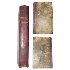 1808 Second Philadelphia Edition of A New System of Domestic Cookery Formed Upon Principles of Economy and Adapted to...