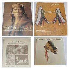 In A Sacred Manner We Live + Sacred Legacy with Photographs Edward S. Custis + Hau Kola + The Spirit of Native America
